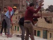 إيقاف أعمال بناء مخالف فى المرج والنزهة ومصر القديمة.. وتحرير 67 محضرا