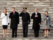 البروفات الأخيرة لحفل تنصيب الرئيس المنتخب دونالد ترامب