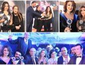 تكريم نجوم الفن فى حفل دعم السياحة المصرية بالكويت