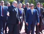 """مباحثات """"مصرية- بيلاروسية"""".. السيسى يستقبل لوكاشينكو ويوقعان اتفاقيات تعاون"""