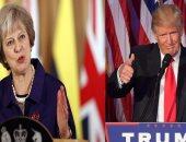 تريزا ماى تدافع خلال اجتماعها مع ترامب عن التجارة الحرة واتفاق إيران
