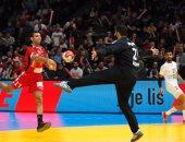 """بعد مرور 10 دقائق.. السويد تتقدم علي مصر 3-2 في كاس العالم لليد """"فيديو"""""""