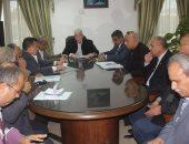 محافظ جنوب سيناء يجتمع برئيس جهاز التعمير لمناقشة المشروعات المنفذة