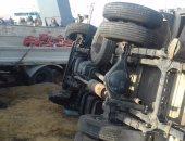 مصرع شخصين وإصابة 23 آخرين فى 6 حوادث سير بالمنيا