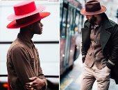 بالصور.. موضة القبعات من عروض الـStreet style على هامش اسبوع الموضة بلندن