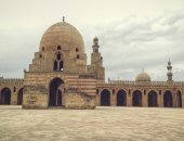 """بالصور.. """"البدرى ممدوح"""" يشارك صحافة المواطن صور بعدسته لمسجد أحمد ابن طولون"""