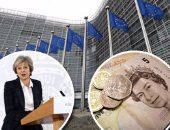 """الخزانة البريطانية فى تقرير مسرب: """"بريكست"""" بدون صفقة سيؤدى لصدمة اقتصادية"""