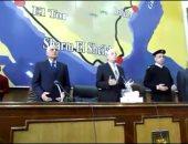 """""""تنفيذى جنوب سيناء"""" يقف دقيقة حدادًا على شهداء الوادى الجديد"""