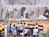 بالصور.. تمرد فى سجن ناتال بالبرازيل وقوات الأمن تحاول السيطرة