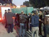 """إصابة 8 أشخاص فى انهيار حائط مقبرة خلال دفن جثمان شهيد النقب بأسيوط """"تحديث"""""""