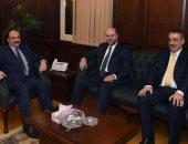 محافظ الإسكندرية يستقبل قاضى قضاة فلسطين لتعزيز العلاقات بين البلدين