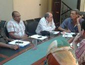 رئيس مياه القناة يؤكد على أهمية التدريب للعاملين بقطاعات الشركة