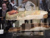مدير الترميم بالمتحف المصرى: مشروع صيانة التوابيت الخشبية يستغرق عامين