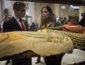 مشروع توثيق وصيانة التوابيت بالمتحف المصرى