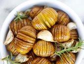 طريقة عمل البطاطس بالروزمارى والخل البلسميك