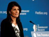 سفيرة أمريكا بالأمم المتحدة: علينا العمل على إخراج إيران من سوريا