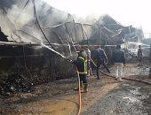 مصرع طفل في حريق فى حى الضواحي ببورسعيد