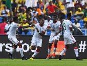 منتخب بوركينا فاسو يعزز تقدمه على غينيا بيساو بتسجيله الهدف الثانى