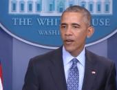 أوباما لشعبه فى خطاب الوداع: أمريكا تحتاجكم ..والصحافة الحرة أساس الديمقراطية