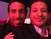 """سيد معوض ينشر صورة مع أبو تريكة على """"إنستجرام"""""""