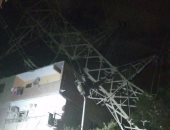 شكوى من إصدار برج ضغط عالى أصواتًا وشرز كهرباء ليلاً بجسر السويس