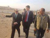 السكرتير البريطانى لشئون الأمن يزور أهرامات الجيزة