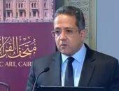 """وزير الآثار يعلن المهلة الزمنية لافتتاح """"المتحف المصرى الكبير"""""""