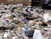 تراكم القمامة بحارة محمد مسعود ابن الرشيد بروض الفرج والسكان يستغيثون