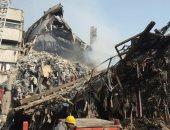 """السلطات الإيرانية تطالب بإخلاء مكان انهيار برج """"بلاسكو"""" بعد تسريب غاز"""