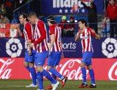 جودين يحرز هدف تعادل أتلتيكو مدريد أمام برشلونة بقمة الليجا