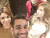 السولية ينشر صورة مع الفنان رامى جمال على إنستجرام