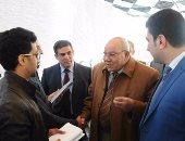 المستشاران محمد مسعود والدكرورى يصوتان بانتخابات نادى مجلس الدولة