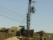 أهالى قرية السلام بالأقصر يطالبون بتجديد شبكة ومحولات الكهرباء