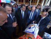 """بالصور.. وزير قطاع الأعمال: 4.2 مليار دولار حجم التبادل التجارى بين مصر و""""الميركسور"""""""