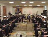 مدير أمن الإسكندرية يستقبل طلاب الكلية البحرية