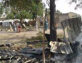 مصرع 4 أشخاص فى تفجير انتحارى بمخيم للنازحين بنيجيريا