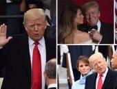 """50 صورة ترصد 12 ساعة من مراسم تنصيب """"ترامب"""""""