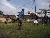 """بالصور.. كرة القدم فى الجابون """"مش أمم أفريقيا وبس"""""""