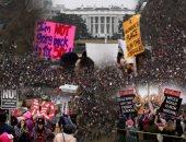 المظاهرات ضد ترامب تصل محيط البيت الأبيض