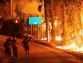 بالصور.. مقتل 6 أشخاص فى حرائق الغابات بتشيلى