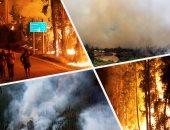 تواصل جهود مكافحة حرائق الغابات فى تشيلى بعد إعلان حالة الطوارئ