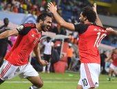 روما يحتفل بتألق محمد صلاح مع مصر أمام أوغندا