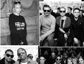 بالصور.. تعرف على أهم المشاهير بالصفوف الأولى لعروض الأزياء الأخيرة بباريس