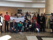 بالصور.. 29 فنانا تشكيليا من مصر ودول عربية يزورون مستشفى أورام الأقصر