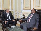 محافظ الجيزة يستقبل سفير دولة الإمارات العربية المتحدة
