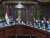 بالفيديو.. وزير الداخلية يتابع مع قيادات الوزارة خطط الانتشار الأمنى