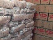 ضبط 35 طن سكر وأرز و40 كيلو لحوم فاسدة قبل بيعها بالسوق السوداء فى الشرقية