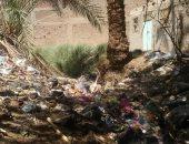 شكوى من عدم وجود شبكة صرف صحى بقرية الحراجية قنا