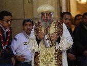 البابا تواضروس يرأس قداس الأربعين على أرواح شهداء البطرسية