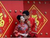 """شريك حياة """"إيجار"""".. حيلة الشباب الصينى لقضاء إجازة """"عيد الربيع"""""""